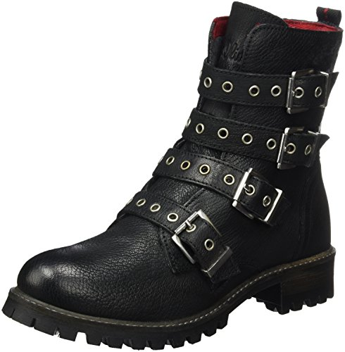 s.Oliver Damen 25454 Biker Boots, Schwarz (Black), 39 ()