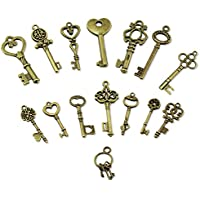 PsmGoods® Vintage Skeleton Antique Keys fascino DIY