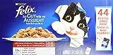 Felix Nassfutter So gut wie es aussieht in Gelee mit Huhn, Rind, Ente, Lamm, für Katzen (44 x 100g Beutel)