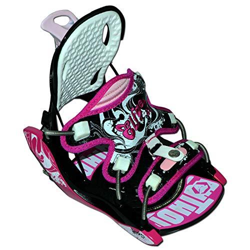 Damen Snowboard Softboot Step-IN BINDUNG - ELFGEN Python Premium PINK GR. S