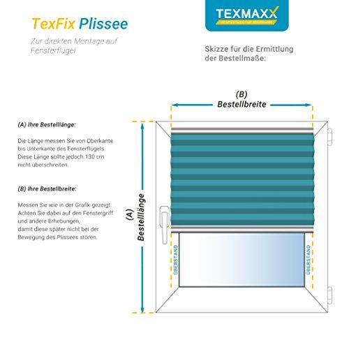 Plissee Schwarz TEXMAXX - 6