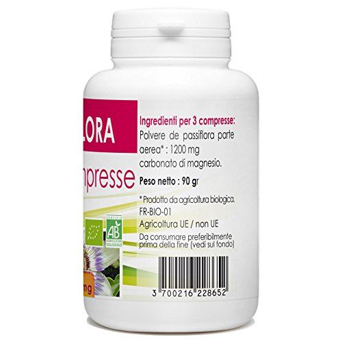 51s5wSZKtjL - passiflora - Box di 200 compresse da 400 mg