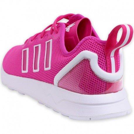 Adidas ZX Flux ADV Chaussures Femme shock pink s16/ftwr white/ftwr white