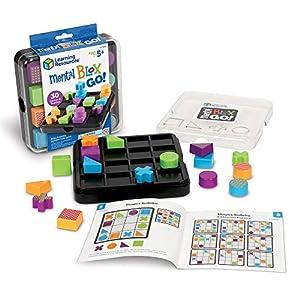 Learning Resources- Juego de Bloques Mental Blox Go, Color (LER9286)