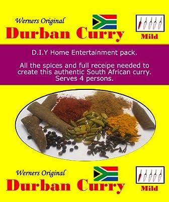 Werner's Original Durban Curry Mix - Mild by Werner