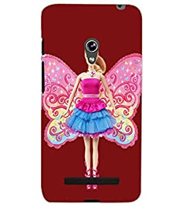 ASUS ZENFONE 5 A501CG ANGEL GIRL Back Cover by PRINTSWAG