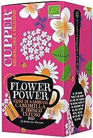 Tisana Biologica Flower Power Cupper (confezione da 20 bustine)