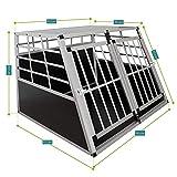 Aluminium Hundetransportbox Größe XL - 6
