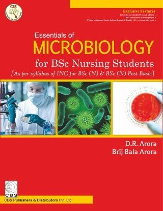 Essentials Of Microbiology For Bsc Nursing Students (Pb 2017) [Hardcover] [Jan 01, 2017] Books Wagon par Books Wagon