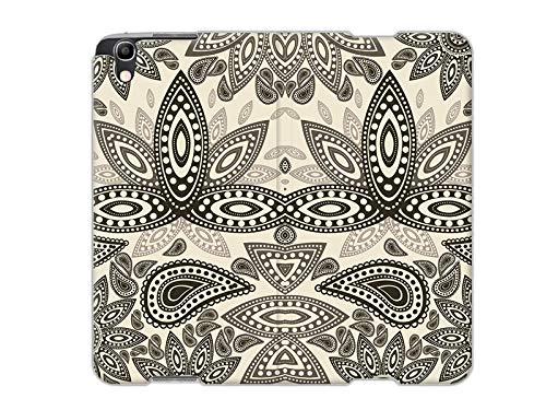 etuo Handyhülle für Alcatel Idol 4 - Hülle, Handy Flip Case - Indische Muster