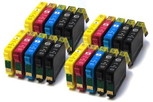 Badger Inks Compatible Ink Cartridges 16XL to fit WorkForce WF-2010, WF-2510, WF-2520, WF-2530, WF-2540 4 Sets+4 Extra Black
