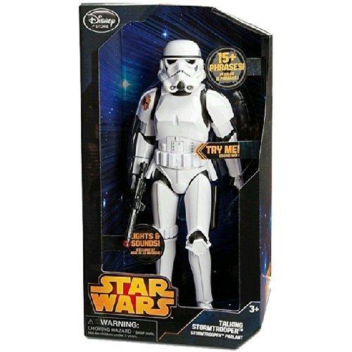 Disney 13.5 in. Talking Figure Storm Trooper / STAR usato  Spedito ovunque in Italia