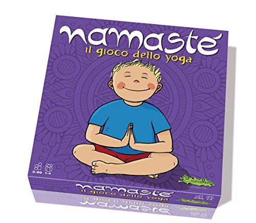 CreativaMente-Namasté-Il gioco dello Yoga, 226