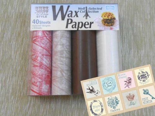 whlen-papier-wax-set-xie-nowa-stil-803-pg-japan-import-das-paket-und-das-handbuch-sind-in-japanisch