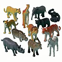 NEU Tierfiguren Dschungeltiere, 12 Stk.