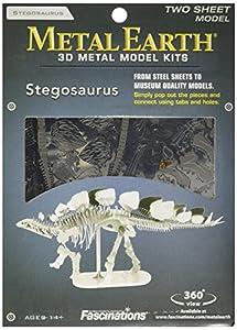 Metal Earth - Maqueta metálica Dinosaurios Esqueleto Estegosaurio