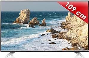 "LG 43UF772V TV Ecran LED 43 "" (110 cm) Ultra HD (4K) : 3840 x 2160, Mpeg4 HD,  Smart TV,TV Connectée,Dual Metal"