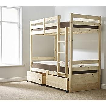 Pine Bunk Bed With Storage - Listitdallas