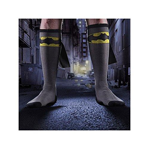 bioworld-chaussettes-batman-avec-cape-39-42