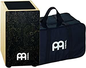 Meinl CAJ3BMBM Cajon Makah Burl with Bag - Black
