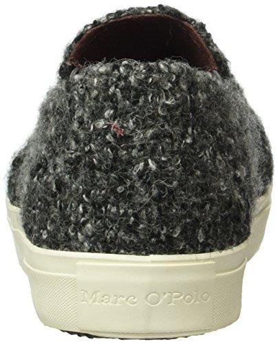 Marc O'Polo Sneaker, Baskets Basses Femme Gris - Grau (Dark Grey 930)