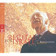 Rubinstein Collection, Vol. 80: Recital for Israel: Beethoven, Schumann, Debussy, Chopin, Mendelssohn