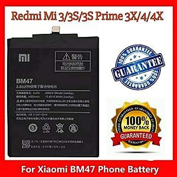 BEST DEAL BM-47 4000 mAh Battery for Xiaomi Redmi 3: Amazon