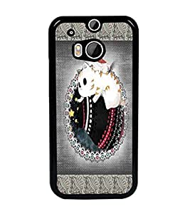 PrintDhaba Cartoon D-4072 Back Case Cover for HTC ONE M8 EYE (Multi-Coloured)