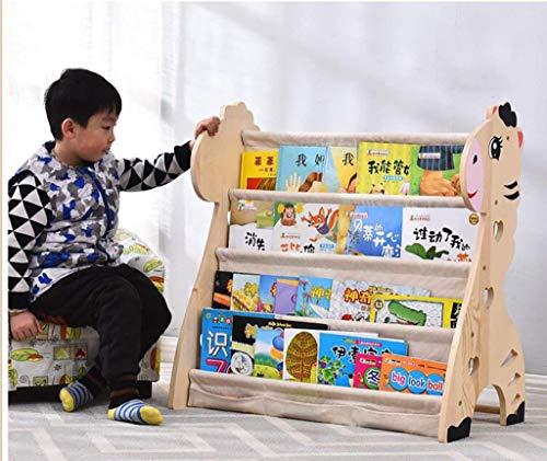 O&YQ Práctico Soporte de Almacenamiento Doméstico Librería para Niños, Estante para Revistas Budget Picture Book Shelf, Segundo, 60 × 40 × 75cm