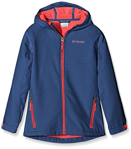 Columbia Chaqueta cascade Ridge Soft Shell Top, niña, color Bluebell, tamaño L