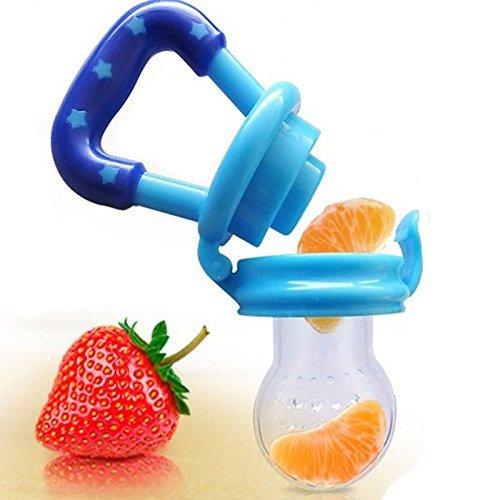 Lucklystar® Baby Schnuller Frische/Obst/Juic/Milch Feeder entwöhnen Nippel Sichere Silikon 1 Stück(Mittel)