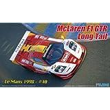 1/24 Rial Serie No.59 coche de deportes de McLaren F1 GTR de la cola larga de Le Mans 1998 Nº 40