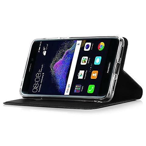 Huawei P8 lite 2017 Hülle,IVSO Hohe Qualität Advanced Shock Absorption Technology Case Folio Tasche Cover für Huawei P8 lite 2017/ Huawei 51091CDM Smartphone (16GB, 12MP Kamera, Android 7.0, 13,2 cm (5,2 Zoll)) Smartphone,