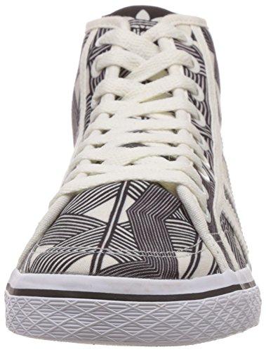 adidas - Honey Mid, Sneakers da donna Multicolore(Mehrfarbig (Core Black/Off White/Core Black))