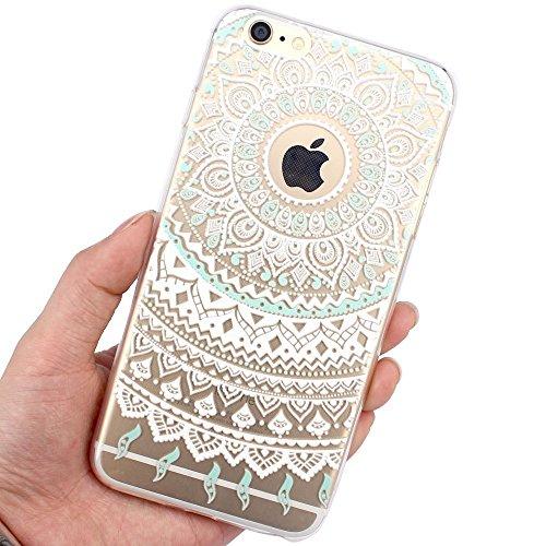 Custodia Per iPhone 5C,Hippolo Custodia Protettiva Shell Case Cover Per iPhone 5C in Silicone TPU (Per iPhone 5C, 7) 3