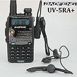 Bao Feng BF-UV-5RA + Plus 136-174 / 400-520MHZ de banda dual de dos vías Walkie Talkie Radio portátil by AGPTek