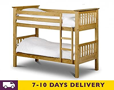 Julian Bowen Barcelona Single Bunk Bed - low-cost UK Bunkbed store.