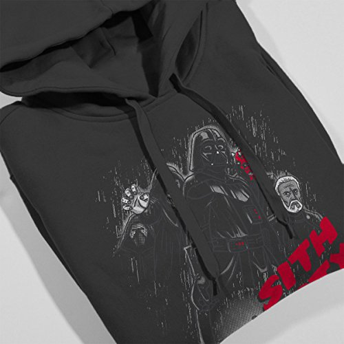 ... Star Wars Sith City The Awakening Women's Hooded Sweatshirt Charcoal ...