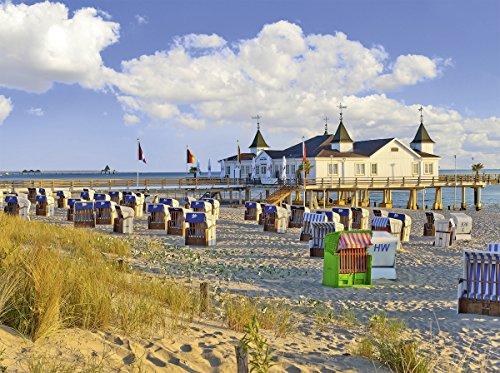 Preisvergleich Produktbild Ravensburger 13652 - Strandkörbe in Ahlbeck, Ostsee