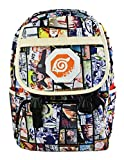 Cosstars Naruto Anime Cosplay Backpack Rucksack Étudiant Sac d'école Sac à Dos