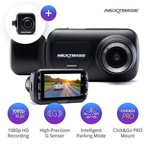 Nextbase 222x Front and Rear Dash Cam Car Recording Camera