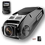 SHISHUO Autokamera - 1080P Dash Kamera 1.5 Zoll LCD Kompakte Fahrzeug Dash Fahrtenrecorder Kameras Mit 16 GB Micro SD Karte, Bilt In G-Sensor, Bewegungserkennung, Parküberwachung, HDR Nachtsicht, Loop Aufnahme, WDR