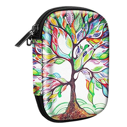 Fintie Portatile Custodia per HP Sprocket Stampante Fotografica - Antiurto Protettiva Borsa Rigida EVA Case con Tasca Interna & Cinghia Rimovibile, Love Tree