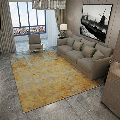 Schlafzimmer-zeitgenössische-sofa (FOO Teppiche Super weicher Abstrakter Muster-Wolldecke-Teppich für Sofa-Wohnzimmer-Schlafzimmer-Kaffeetisch Teppich zeitgenössischer Wohn- und Schlafbereich T (größe : 200 * 300cm))