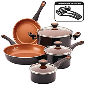 Farberware Glide Nonstick 11-piece Pots and Pans Set