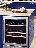 Cave à vin de service - 1 temp. - 50 bouteilles - Noir - AVINTAGE - ACI-AVI573E - Encastrable