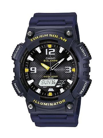 Casio Collection - Herren-Armbanduhr mit Analog/Digital-Display und Resin-Armband - AQ-S810W-2AVEF (Sportuhr Herren Blau)