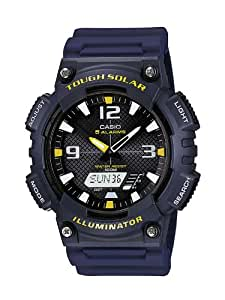 Casio Collection – Herren-Armbanduhr mit Analog/Digital-Display und Resin-Armband – AQ-S810W-2AVEF