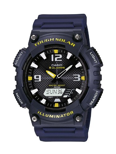 Casio Collection Herren Armbanduhr - Casio-digital-solar-uhr