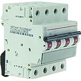General Electric AUN676115 Disjoncteur 4 Pôles 32 A Courbe C 6 kA
